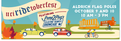Celebrate sustainability at uciRIDEtoberfest!